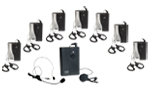 UHF Wireless Tour Guide System AG300